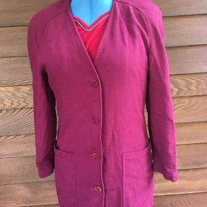 Dior Jackets & Coats - Vintage Christian Dior Wool Long Jacket